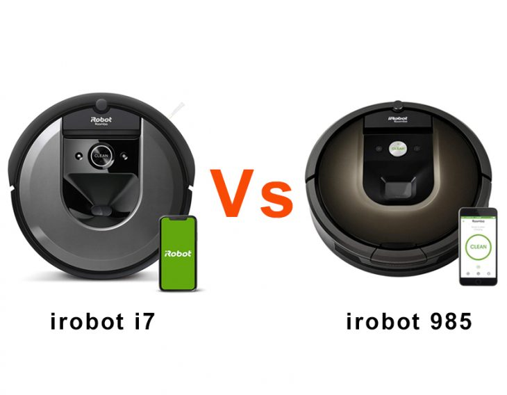 iRobot Roomba 985 vs i7