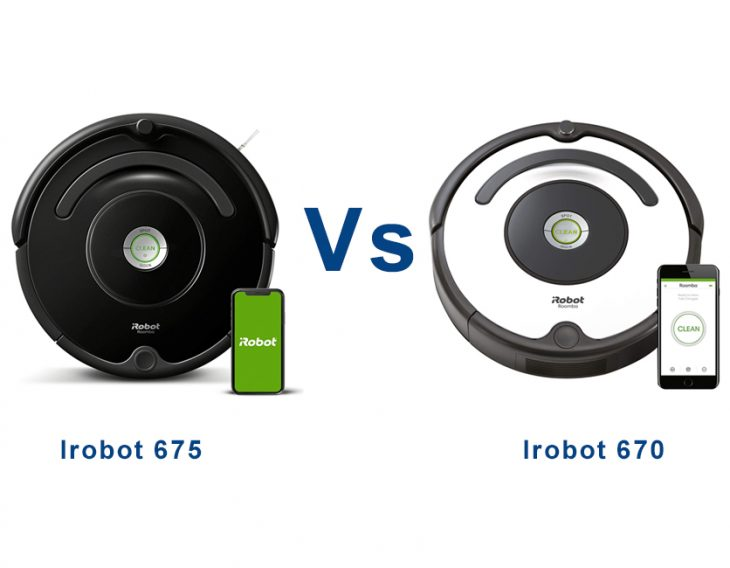 irobot roomba 670 vs 675