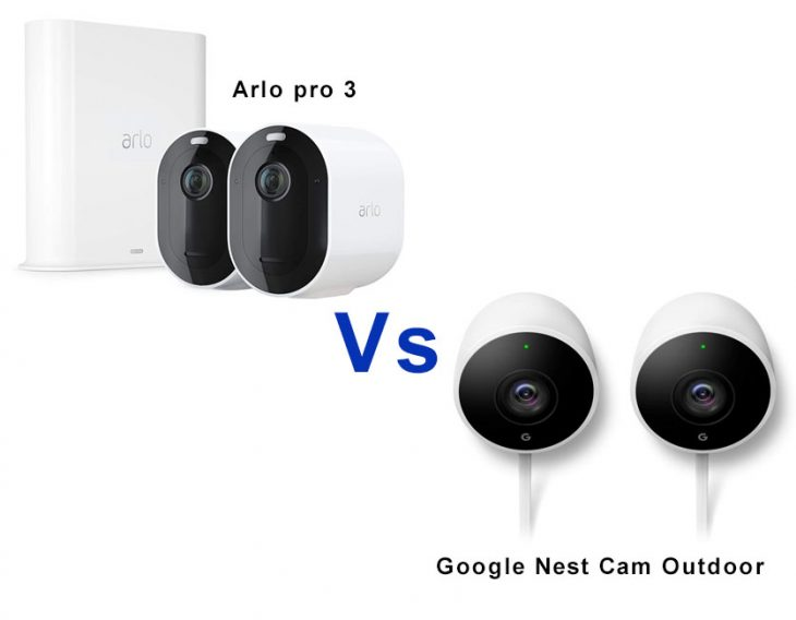 Arlo vs Nest