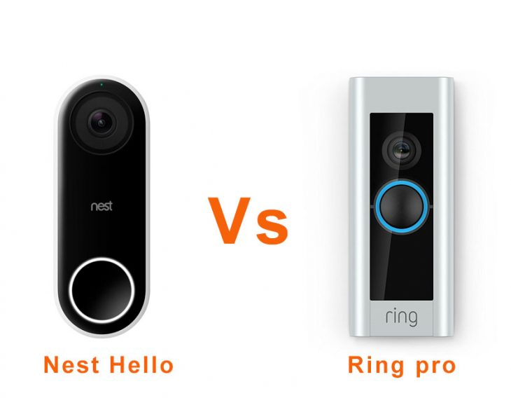 Nest Hello vs Ring Pro