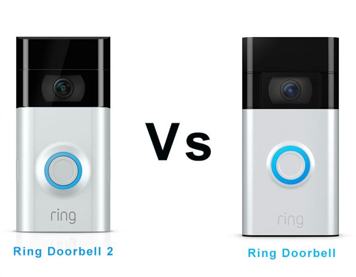 Ring Doorbell vs Ring Doorbell 2