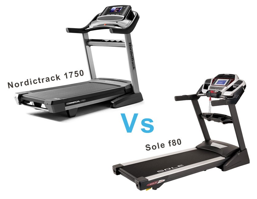 Sole F80 vs Nordictrack 1750