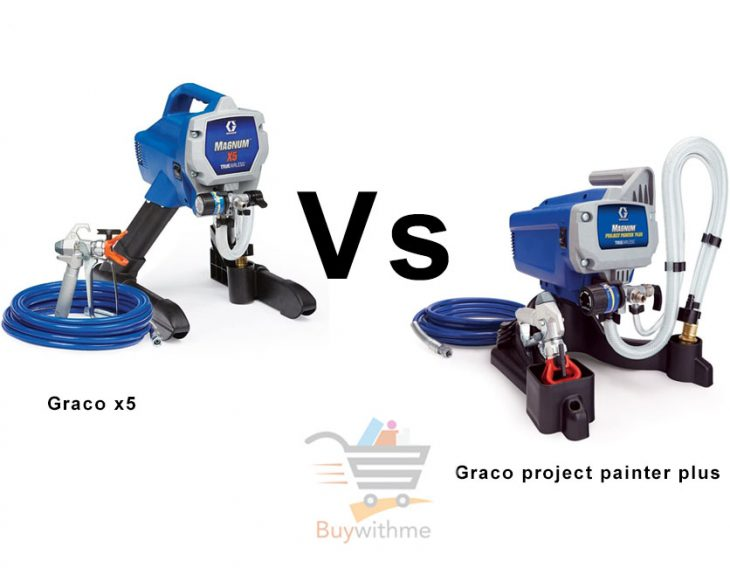 Graco project painter plus vs x5