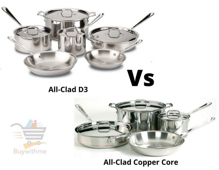 All-Clad D3 vs Copper Core