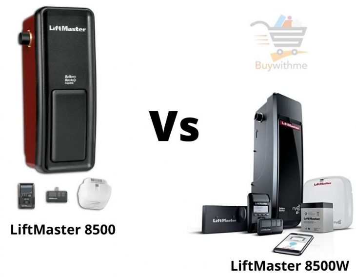 LiftMaster 8500 vs 8500W