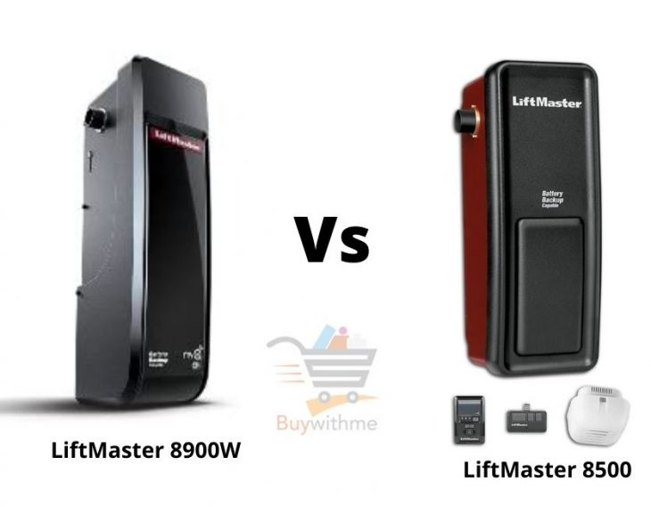 LiftMaster 8900W vs 8500