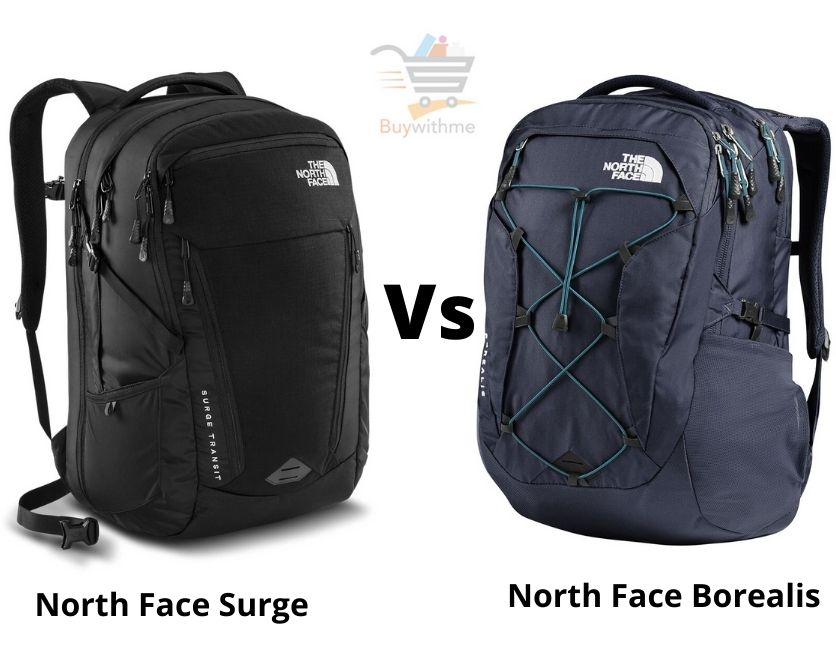 North Face Surge vs Borealis