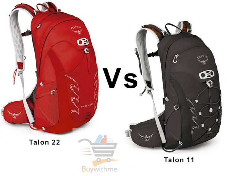 Osprey Talon 11 vs 22