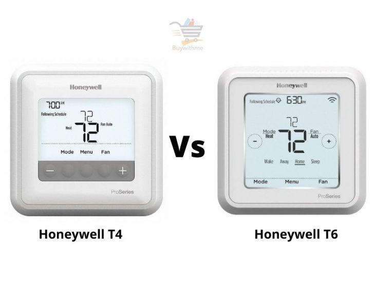 Honeywell T4 vs T6