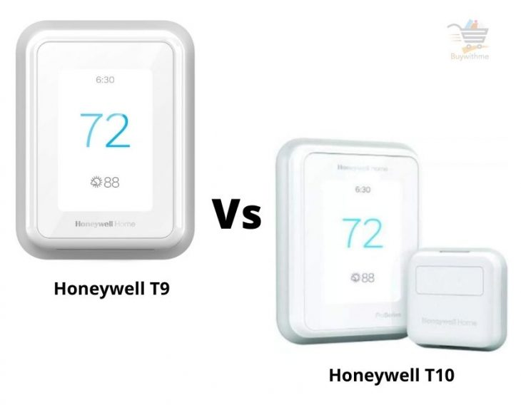 Honeywell T9 vs T10