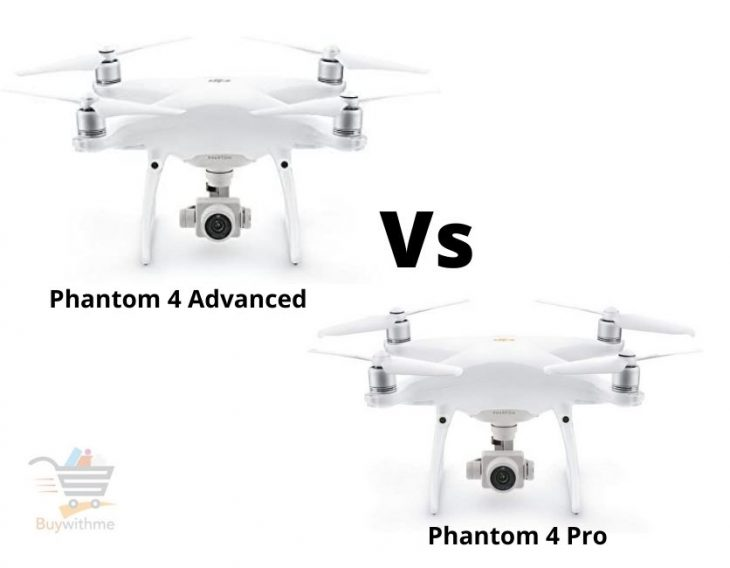 Phantom 4 Advanced vs 4 Pro