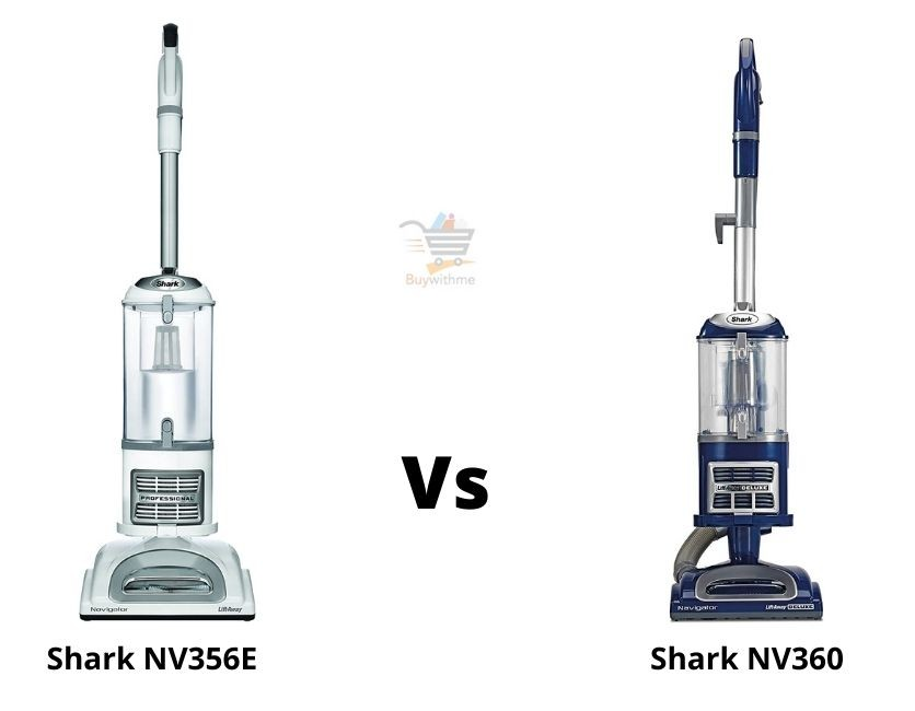 Shark NV356E vs NV360