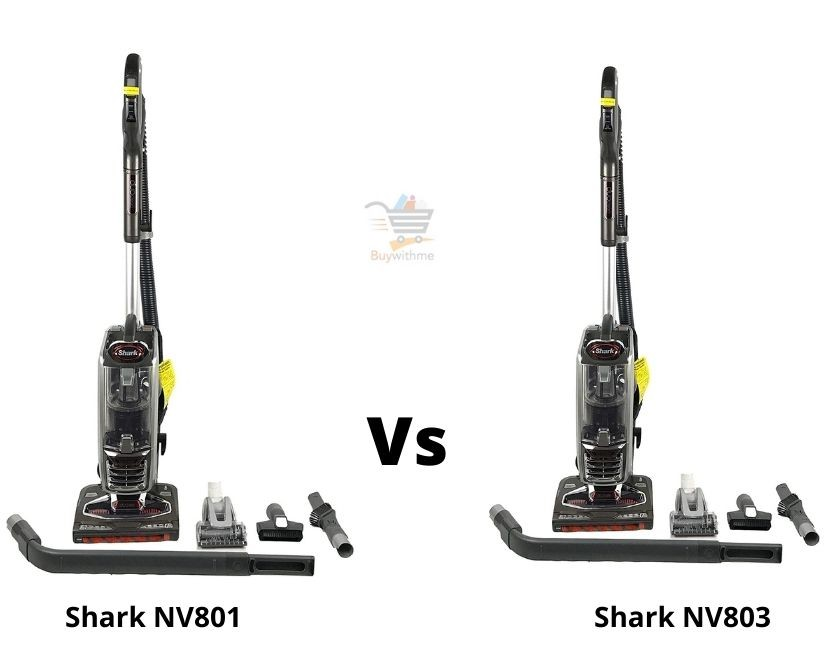 Shark NV801 vs NV803