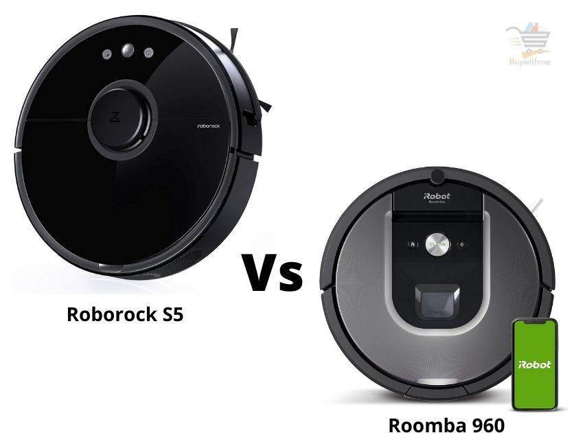 Roborock S5 vs Roomba 960