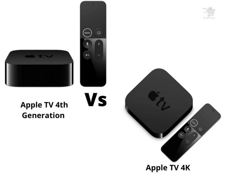 Apple TV 4th Generation vs 4K