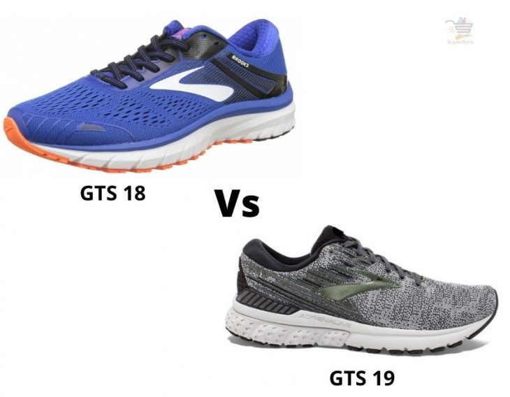 Brooks Adrenaline GTS 18 vs 19