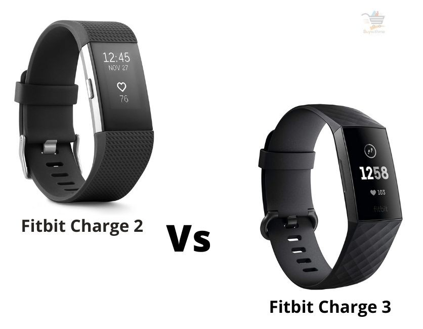 Fitbit Charge 2 vs Charge 3