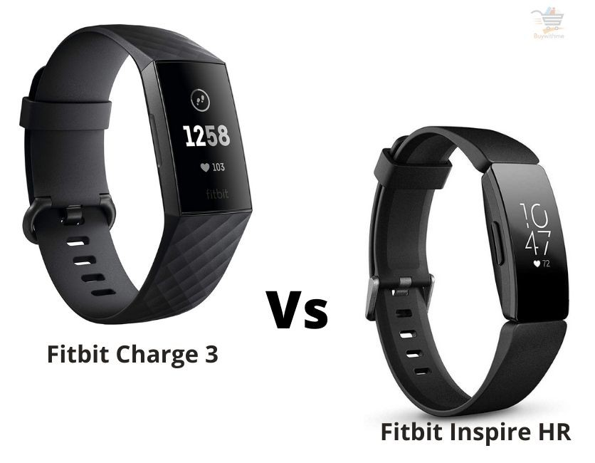 Fitbit Charge 3 vs Inspire HR