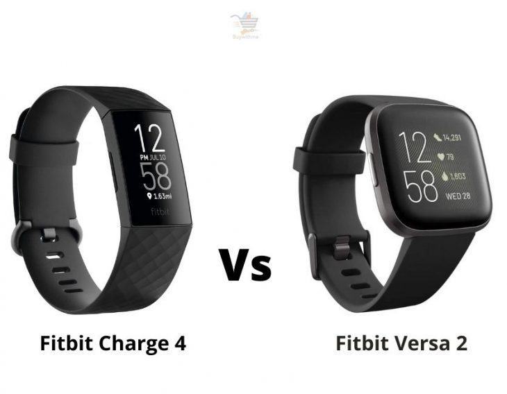 Fitbit Charge 4 vs Versa 2