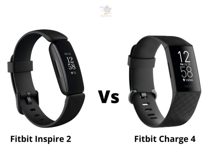 Fitbit Inspire 2 vs Charge 4
