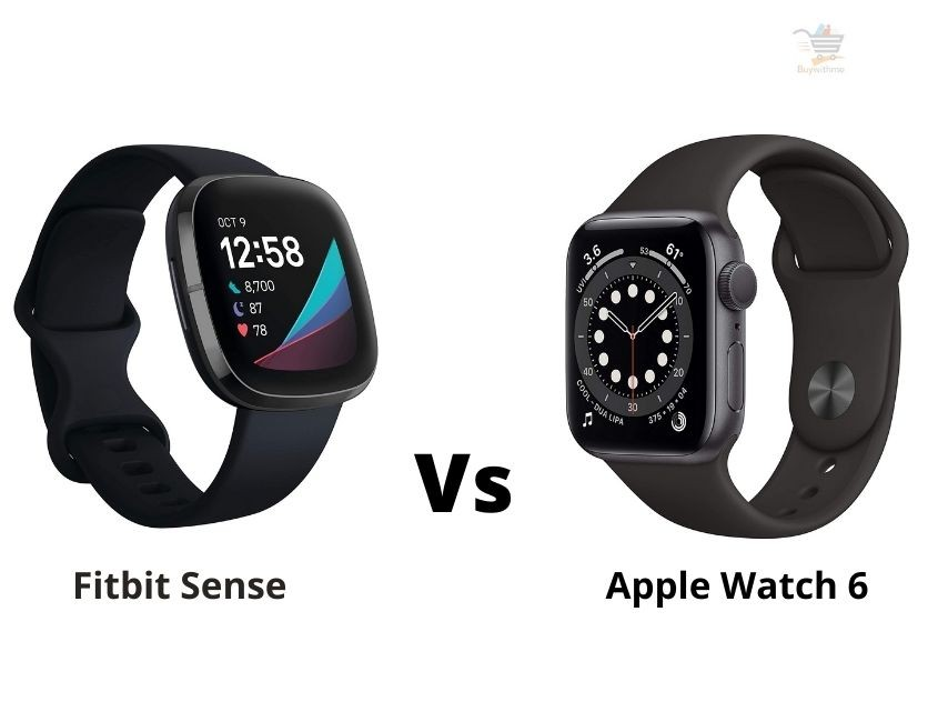 Fitbit Sense vs Apple Watch 6