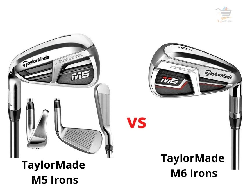 TaylorMade M5 vs M6 Irons