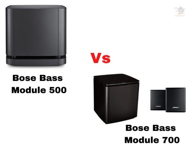 Bose Bass Module 500 vs 700