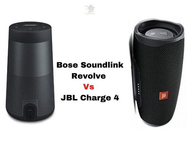 Bose Soundlink Revolve vs JBL Charge 4