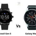 Fossil Gen 5 vs Galaxy Watch