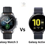 Galaxy Watch 3 vs Active 2