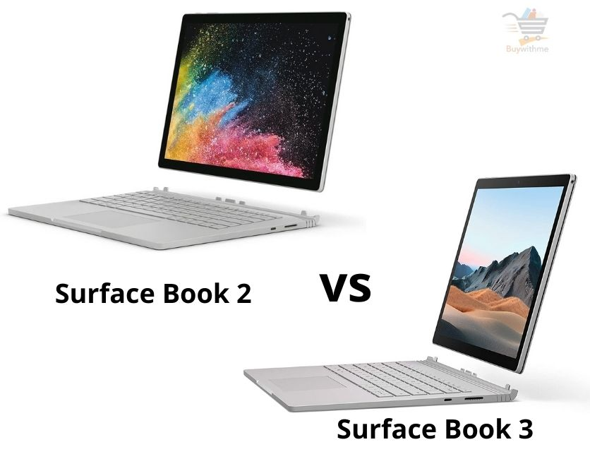 Surface Book 2 vs Surface Book 3