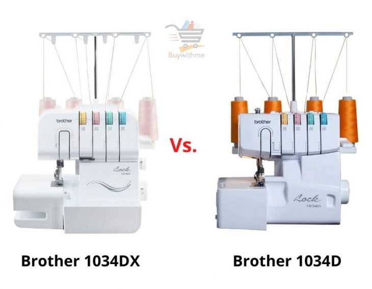Brother 1034D vs 1034DX